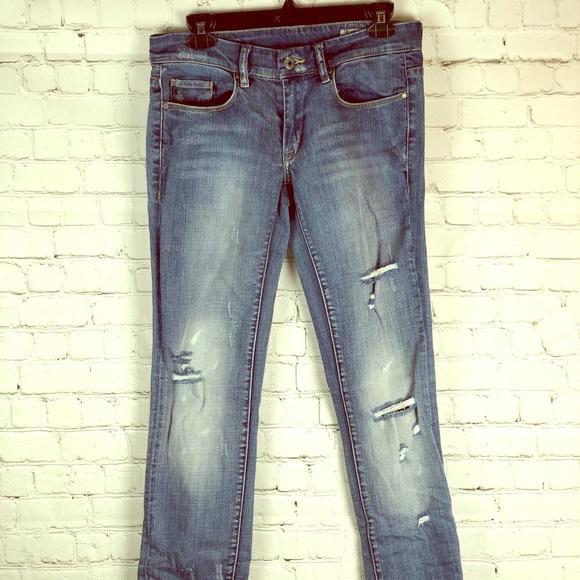 Blank NYC Denim - 🔥Blank NYC distressed straight leg jeans /EUC🔥